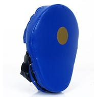 boxing pad for taekwondo boxing form fit pu leather black red blue