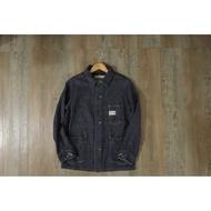 日本帶回 PHERROW'S 日本製 牛仔藍染 牛仔工裝外套 工作外套 單寧 夾克 11月 男 k72
