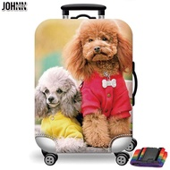 Johnn แฟชั่น Washable【READY STOCK】18/26/32 นิ้ว Spandex ที่ป้องกันกระเป๋าเดินทางสัมภาระผ้าคลุมกระเป๋าเดินทาง