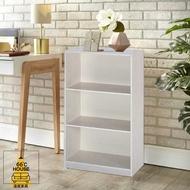 【溫度家具】塑鋼系列 三層書櫃 防水防潮 收納櫃