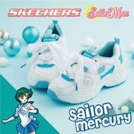 SKECHERS 女 美少女戰士聯名 D'LITES AIRY 2.0 水星仙子 - 66666267WLB