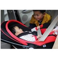 時尚嬰兒提籃式汽車安全座椅新生兒手提籃寶寶車載用便攜搖籃
