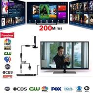1080P 200英里範圍天線電視數字高清Skywire 4K天線數字室內高清電視