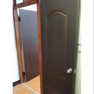 @李師父@ 台北市 新北市 專業施工 浴室 胡桃色 塑鋼門 連工帶料 含安裝 3500元(3500元)