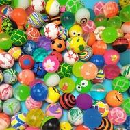 免運 32號混裝橡膠彈力球100個彈球彈跳球一元扭蛋機專用兒童玩具  中秋節禮物