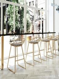 高腳椅吧台椅高腳凳靠牆高腳窄桌吧台現代簡約長條鐵藝家用實木吧台椅子ATF 享購