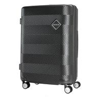 AMERICAN TOURISTER กระเป๋าเดินทางล้อลาก (24นิ้ว) รุ่น GROOVISTA SPINNER 67/24 TSA สี JET BLACK