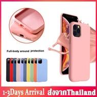 เคสไอโฟน iPhone case เคสโทรศัพฑ์ไอโฟน silicone case iPhone12mini 12/12pro 12pro max 11 11pro 11Pro Max  Phone Case for iPhone 6 7 8 6s Plus X/XS XS Max XR เคสซิลิโคนกันกระแทก อ่อน นิ่ม FI