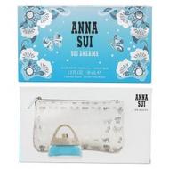 ANNA SUI甜蜜夢境花綻禮盒(EDT30ML+包)