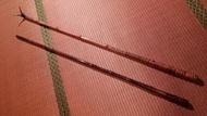 日本製竿師手作竿掛玉柄玉網竿架架竿紋竹萬万力shimano江戶川和竿竹竿DAIWA富士鯽魚福壽釣台GAMAKATSU