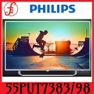 PHILIPS TV SMART 55INCH 55PUT7383/98 Ultra Slim 4K UHD LED Android TV