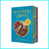 พรีเมี่ยม Asia Books หนังสือภาษาอังกฤษ HOGWARTS LIBRARY BOX SET THE (3 BOOKS)