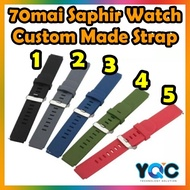 70mai Saphir Watch Strap Silicone Wrist Strap Watchband