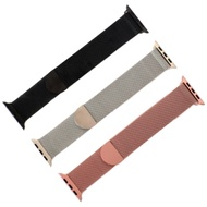 【原廠代用】Apple Watch米蘭尼斯金屬錶帶 磁吸替換帶(半圓磁扣)