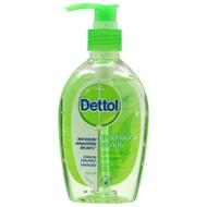 เจลล้างมือ เดทตอล 200มล. Dettol รีเฟรช  สูตรหอมสดชื่น ผสมอโลเวร่า Instant Hand Sanitizer refresh