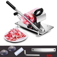 Meat slicer Slicer Sliced Meat Cutting Machine Manual slicer Meat Desktop Easy-cut frozen Beef