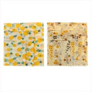 SWT♖Food Wrap Beeswax Reusable Sustainable Plastic Free Beeswax Food Storage Wrap