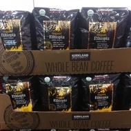 有發票 好市多代購 Kirkland Signature 有機衣索比亞咖啡豆 (907g)