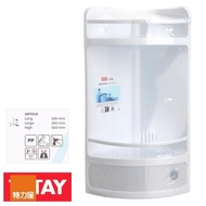 【特力屋】西班牙 TATAY 雙層浴室轉角櫃 附抽屜 白色款 型號4432001