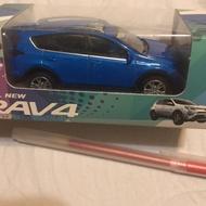 TOYOTA AlL NEW RAV4 LED 迴力車 模型車 玩具車