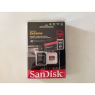 全新未拆 SanDisk Extreme microSDXC UHS-I(V30)(A2) 128GB 記憶卡(公司貨)