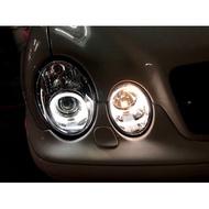 新店【阿勇的店】BENZ W208 99~02 CLK 晶鑽光圈魚眼大燈 W208 大燈 CLK 大燈