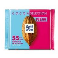 【買四送一、贈品隨機】Ritter Sport 55%加納巧克力100g