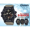 CASIO 時計屋 卡西歐 G-SHOCK GG-1000-1A5 男錶 橡膠錶帶 LED 耐衝擊構造