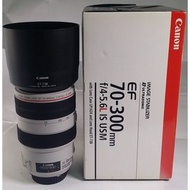 Canon EF 70-300mm F4-5.6 L IS USM 胖白 (CL117)