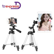 Compact Lightweight Aluminum Flexible Tripod [Free Mobile Holder And Tripod Bag]