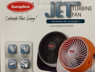 Brand New EuropAce EJF 163Q 6-Inches Jet Turbine Fan. Up to 7metres square. Local SG Stock