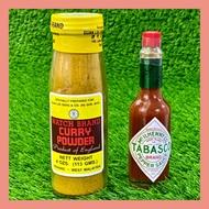 [Shop Malaysia] England Curry Powder Watch Brand (113g) 英国咖喱粉 / Tabasco Pepper Sauce (60ml)