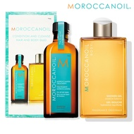 Moroccanoil 摩洛哥優油 經典沐浴組合 (摩洛哥優油125ml 沐浴膠250ml)【SP嚴選家】