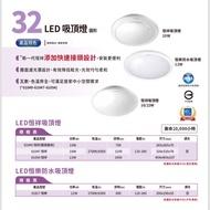 #La Luz 燈# 飛利浦 恆樂 12W LED 防水吸頂燈 恒樂 防水 吸頂燈 白光 黃光 12瓦 31817 PH