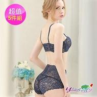 【Yi-sheng】蕾絲魅肌纖體塑身褲(蕾絲收腹褲*5)