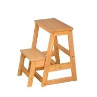 Boden-可羅實木二層收合樓梯椅-40x37x55cm
