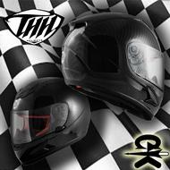 {GK} THH-T80新仿纖維 高擬真粉碳纖維,質感看的見!! 安全帽 碳纖維 全罩 賽車