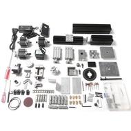 Cancanshop 8 in 1 mini lathe 20000 RPM 24W, wire saw, wood lathe, metal lathe, milling machine, drilling machine, sander