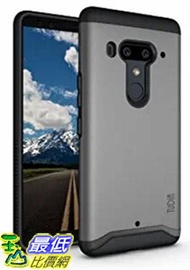 [8美國直購] 手機保護殼 HTC U12 Plus Case 灰色 / U12+ Case, TUDIA [MERGE Series] Heavy Duty Extreme Protection Rugged but Slim