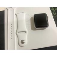 apple watch series 2 42mm 不鏽鋼 藍寶石水晶鏡面 (二手品) apple watch s2