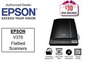 Epson Flatbed Scanner Perfection V370 Photo (Free 16GB Flash drive) ** Free $30 NTUC Voucher Till 2nd Mar 2019 ** V 370 V370