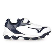 【MIZUNO 美津濃】22.5-24CM_WAVE SELECT NINE JR. 男兒童棒壘球鞋-WIDE(11GP192514)