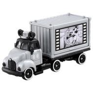 【Fun心玩】DS11409 麗嬰 日本 TOMICA Disney 夢幻 迪士尼 米奇 90週年紀念 貨櫃車 1928