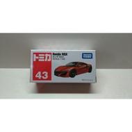 全新 TOMY TOMICA 43號 HONDA NSX 本田 超跑 多美 小汽車