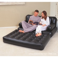 Bestway Double Folding Sofa Dawdler Aerates Sofa Bed 75054 Multi-Function Five-in-One