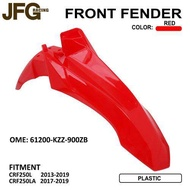 JFG racing Motorcycle Red bodyset  body kit Front Fender Mudguard For Honda CRF250L 2013-2019 CRF250LA 2017-2019 motorcycle accessories motocross accessories