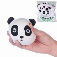Vlampo Squishy Panda Head Face Licensed Slow Rising Original Packaging Collection Toy Gift Decor