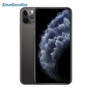 ใหม่จีนรุ่น Dual ซิมการ์ด iPhone 11 PRO MAX 6.5 นิ้ว OLED จอแสดงผล 4G LTE Triple-กล้องสมาร์ทโฟน 64/256/512 GB ROM A13