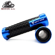 [CC MOTO]High-Quality 22mm 7/8'' Brand New Motorcycle Anti-Skid Handle Grip handlebar grips FOR Yamaha MT03 MT-03 MT 03 Accessories