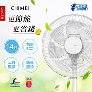 【CHIMEI 奇美】14吋微電腦ECO遙控擺頭DC節能風扇(DF-14D500)